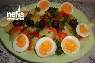 Sebzeleri Haşlama Salata Tarifi