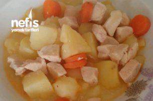 Tavuklu Patates Haşlama Tarifi