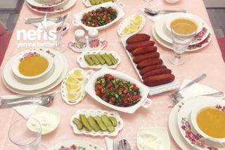 Misafirli Akşam Yemeğimiz Tarifi