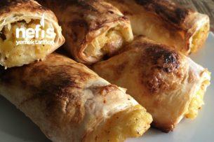 Yufka İle Patatesli Börek Tarifi
