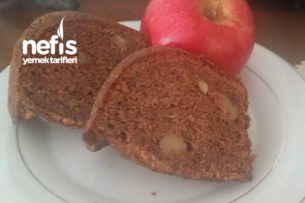 Elmalı Cevizli Tarçınlı Kek Tarifi