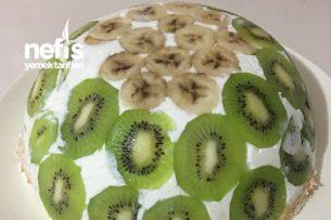 Meyveli Yuvarlak Pasta Tarifi