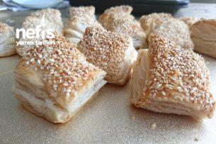 Peynirli Kare Simit (Çok Pratik Atıştırmalık) Tarifi