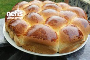 Yumuşacık Sütlü Ekmekler Tarifi