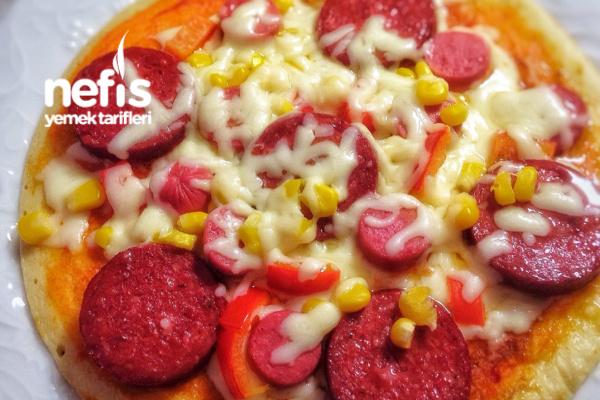 Krep Pizza  (Mutlaka Deneyin) Tarifi