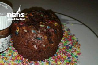Nutella Dolgulu Muffin Tarifi