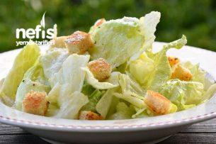 Sezar Salatası (Sos Tarifi İle)