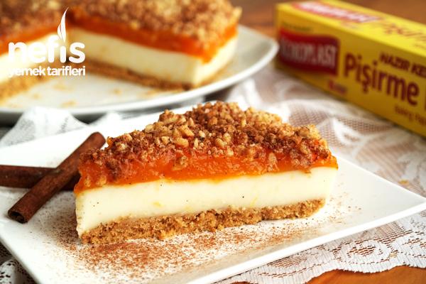 Muhallebili Balkabağı Pastası (videolu) Tarifi