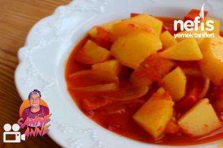 Zeytinyağlı Patates Yemeği (videolu) Tarifi