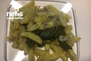 Garnitürlü Fırın Patates Tarifi