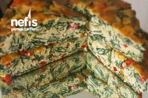 Kahvaltınız İçin Harika Bir Lezzet Fırında Ispanaklı Omlet Tarifi