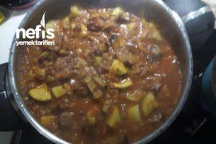 Patatessiz Az Malzemeli Türlü Yemeği Tarifi