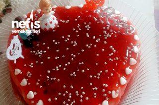 Sevgililer Gününe Özel aşk Pastası Tarifi