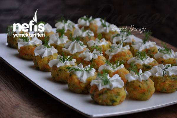 Havuçlu Patates Süzme Yoğurt Süslemeli Tarifi