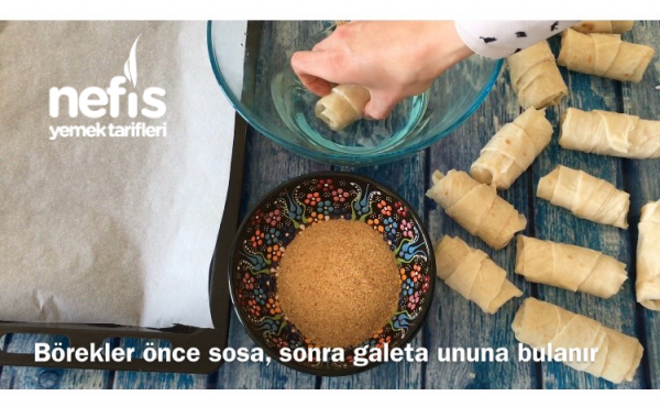 Hazır Yufkadan Kruvasan Börek (videolu)