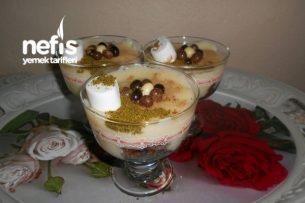 Kekli Sütlü Muhallebi Tarifi