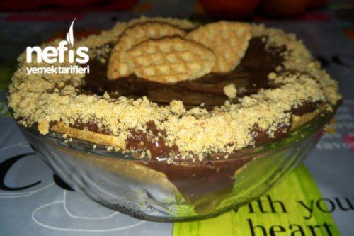 Yulafı Bisküvili Pasta Tarifi Videosu