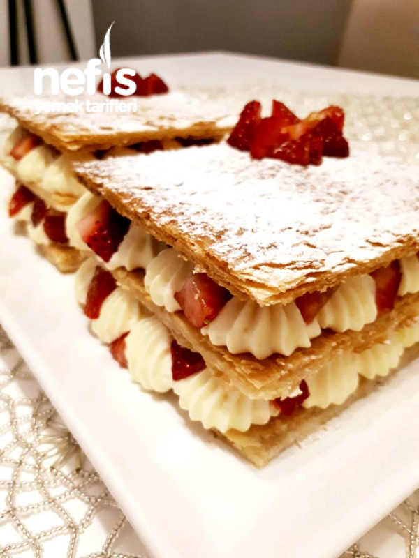Napolyon Pasta (orjinal Pastacı Kremasi İle)