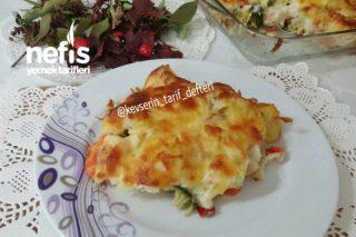 Sebzeli Patates Graten (Et ve Tavuk Yanına Muhteşem Lezzet) Tarifi