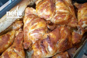 Fırında Çıtır Çıtır Tavuk But Tarifi