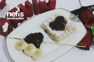 Muzlu Çikolatalı Milföy Tarifi