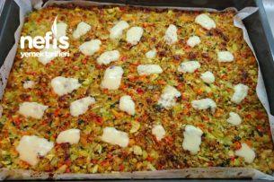 Fırında Sağlıklı Sebze Böreği Tarifi
