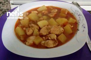Patatesli Tavuk Sote Tarifi