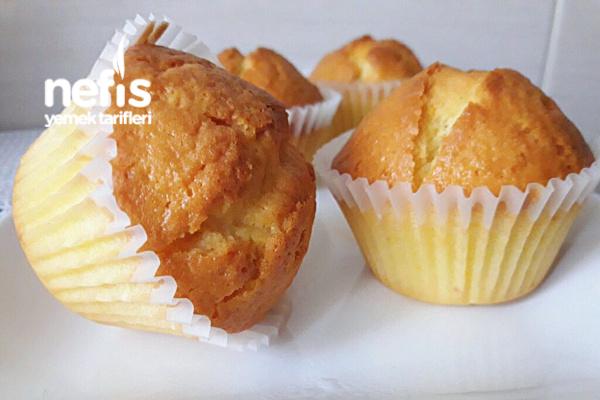 Reçel Dolgulu Muffin
