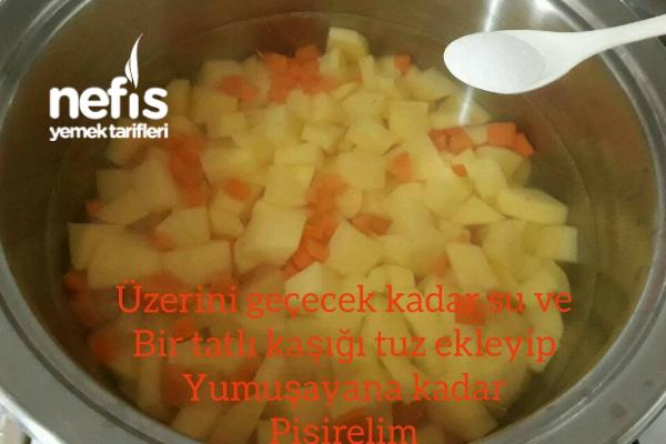 Yoğurtlu Patates Salatası(resimli anlatım)