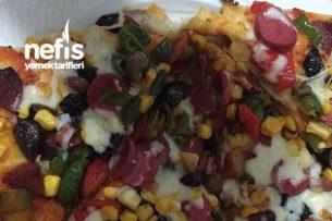 En Lezzetli Pizza Tarifi