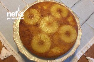 Ananaslı Alt Üst Kek Tarifi