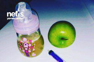 Ev Yapımı Elma Suyu (Bebekler İçin) Pişirmeden Pratik Tarifi