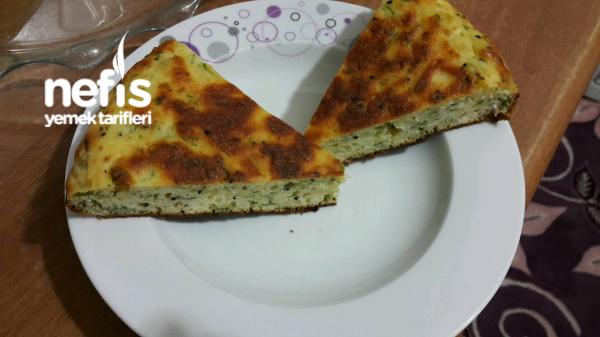 Tavada Kolay Ve Lezzetli Peynirli Çörek