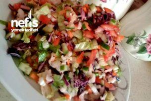 Karışık Salatam (Balık Ve Çorbalar Yanına Harika Yakışıyor) Tarifi