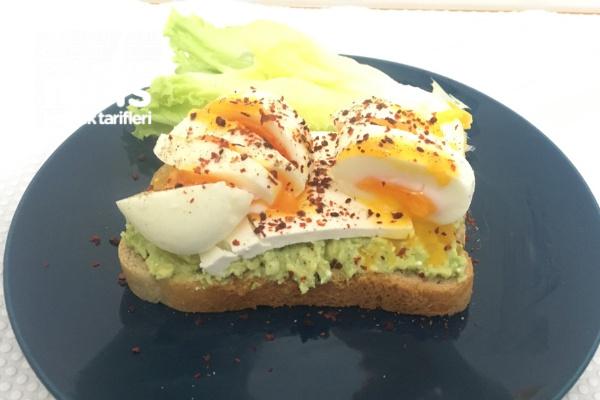 Avokadolu Yumurta Kahvaltısı Tarifi