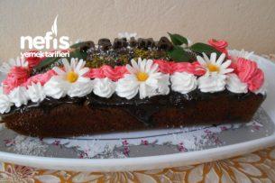 Çikolatalı Portakal Sulu Sevgililer Günü Pastası Tarifi