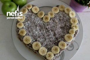 Eşime Süpriz Sevgililer Günü Pastası (Şipşak) Tarifi