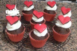 Kalp Kalbe Cupcake Sevgiller Günü Tarifi