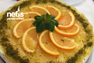 Portakallı Paluzeli İrmik Tatlısı Tarifi