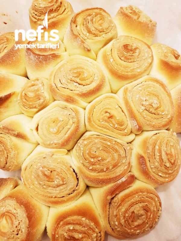 Tahinli Susamlı Çörek