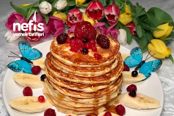 Amarikanische Pancakes (Pankek) Tarifi