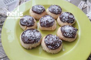 Çikolatalı Hindistan Cevizli Kurabiye Tarifi