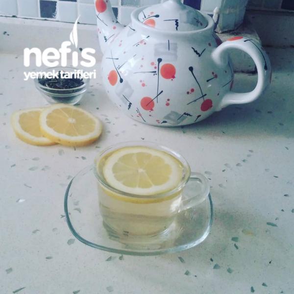 Limonlu Yeşil Çay (kilo vermek İçin)