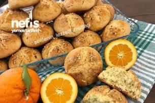 Portakallı Pastane Kurabiyesi Tarifi