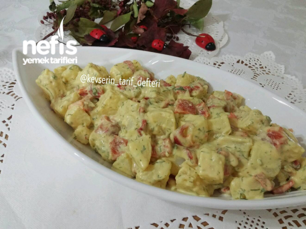 Hardallı Köz Biberli Patates Salatası (Et Tavuk yanına)