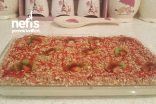 Pratik Gofret Pastası (10 Dakikada Hazır) Tarifi
