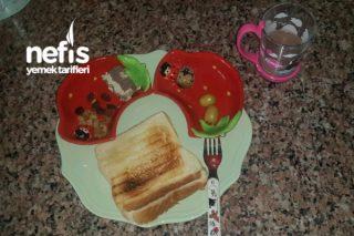Bıldırcın Yumurtalı Bebek Kahvaltısı +18 Ay Tarifi