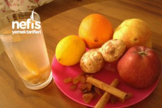 Vitamin Deposu Ev Yapımı Meyve Suyu Tarifi