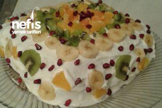 Arzu'nun Bol Meyveli Pastası Tarifi
