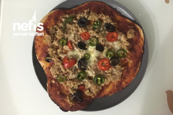 Glutensiz Ton Balıklı Pizza Tarifi